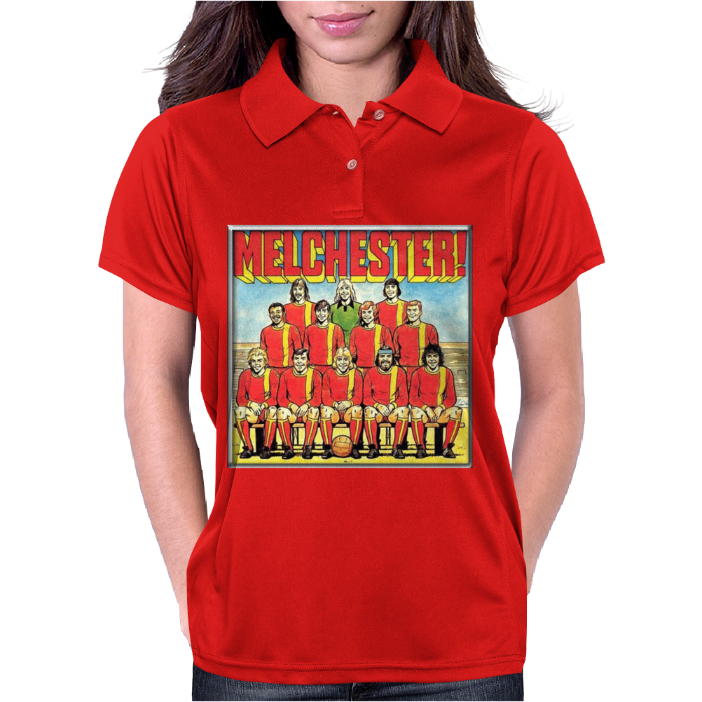 Melchester Rovers, Ideal Gift Or Birthday Present Womens Polo