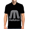 Mellotron Analog Synth Retro Mens Polo