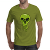 Melting Acid Skull Mens T-Shirt