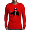 Men in Black – Mr. C. Mens Long Sleeve T-Shirt