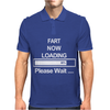 Mens Fart Now Loading Funny. Mens Polo
