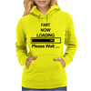 Mens Fart Now Loading Funny Womens Hoodie