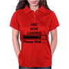 Mens Fart Now Loading Funny Womens Polo