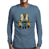Mens Funny T-Shirt, Bane Minion, Ideal Gift or Birthday Present. Mens Long Sleeve T-Shirt