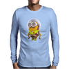 Mens Funny T-Shirt, Buzz Lightyear Minion, Ideal Gift or Birthday Present. Mens Long Sleeve T-Shirt
