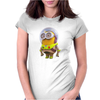 Mens Funny T-Shirt, Buzz Lightyear Minion, Ideal Gift or Birthday Present. Womens Fitted T-Shirt
