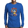 Mens Funny T-Shirt, Captain America Minion, Ideal Gift or Birthday Present. Mens Long Sleeve T-Shirt