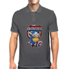 Mens Funny T-Shirt, Captain America Minion, Ideal Gift or Birthday Present. Mens Polo