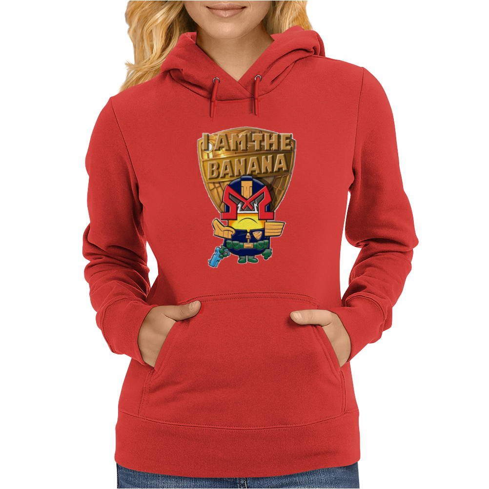 Mens Funny T-Shirt, Judge Dredd Minion, Ideal Gift or Birthday Present. Womens Hoodie