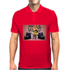 Mens Funny T-Shirt, Kiss Minion, Ideal Gift or Birthday Present. Mens Polo