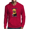 Mens Funny T-Shirt, Need Coffee Minion, Ideal Gift or Birthday Present. Mens Hoodie