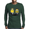 Mens Funny T-Shirt, Pulp Minion, Ideal Gift or Birthday Present. Mens Long Sleeve T-Shirt