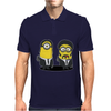 Mens Funny T-Shirt, Pulp Minion, Ideal Gift or Birthday Present. Mens Polo