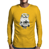 Men's Funny T-Shirt, Stormtrooper Minion, Ideal Gift, Birthday Present Mens Long Sleeve T-Shirt