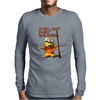 Mens Funny T-Shirt, The Last Fart Bender Minion, Ideal Gift or Birthday Present. Mens Long Sleeve T-Shirt