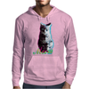 Meow - a cool kitty Mens Hoodie