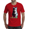 Meow - a cool kitty Mens T-Shirt