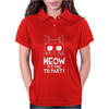 Meow It's Time To Party Womens Polo