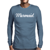 MERMAID Mens Long Sleeve T-Shirt