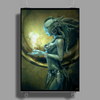 MERMAID Poster Print (Portrait)