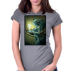 MERMAID Womens Fitted T-Shirt
