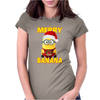 Merry Banana Minion chirstmas Womens Fitted T-Shirt