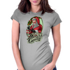 merry cannabis Womens Fitted T-Shirt