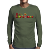 Merry Christmas 2015 Greetings Wishes Quotes Mens Long Sleeve T-Shirt