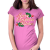Merry Christmas Bitches 2 Womens Fitted T-Shirt