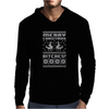 Merry Christmas Bitches Mens Hoodie