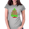 Merry Christmas Columbia! Womens Fitted T-Shirt