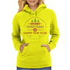 Merry Christmas & Happy New Year 2016 Womens Hoodie