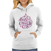 Merry Christmas Lighting Womens Hoodie