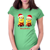 Merry Christmas! - Mens Funny Minions Womens Fitted T-Shirt