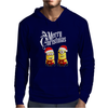 Merry Christmas Minions funny Mens Hoodie