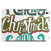 Merry Christmas Mustache Tablet