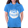 Merry Christmas Santa Beard Womens Polo