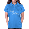 Merry Christmas Womens Polo