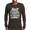 Merry Christmas Ya Filthy Animal Funny Mens Long Sleeve T-Shirt