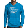 Merry Christmas, Ya Filthy Animal Mens Hoodie