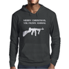 Merry Christmas You Filthy Animal Mens Hoodie