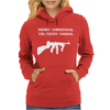 Merry Christmas You Filthy Animal Womens Hoodie