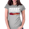 Merry Crispness Womens Fitted T-Shirt