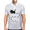 Messy Cat Mens Polo