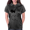 Messy Cat Womens Polo