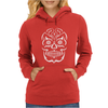 Mexican Day of the Dead Dia De Los Muertos Sugar Skull Tee Womens Hoodie