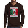Mexican History, Written With Blood Mens Hoodie
