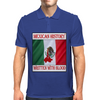 Mexican History, Written With Blood Mens Polo