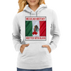 Mexican History, Written With Blood Womens Hoodie