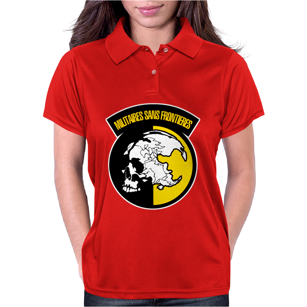 Mgs  Militaires Sans Frontieres Womens Polo